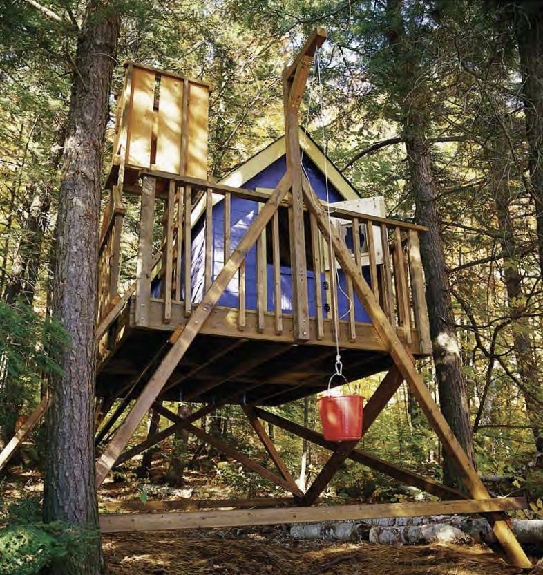 Freestanding Treehouse Designs The Image Kid Has It