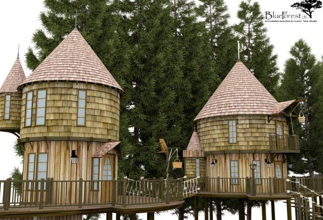 JK Rowling's Luxury Treehouse