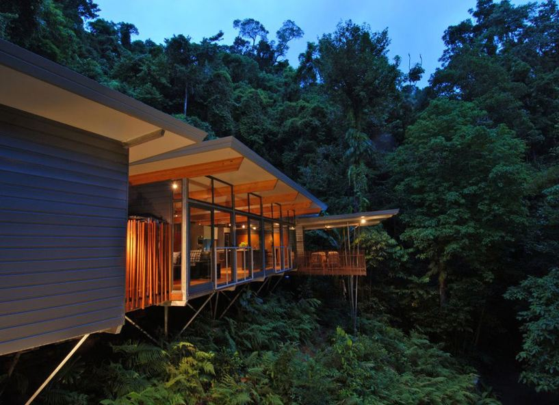 mmp architects luxury treehouse