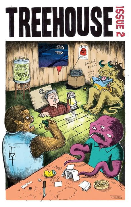 treehouse comic book