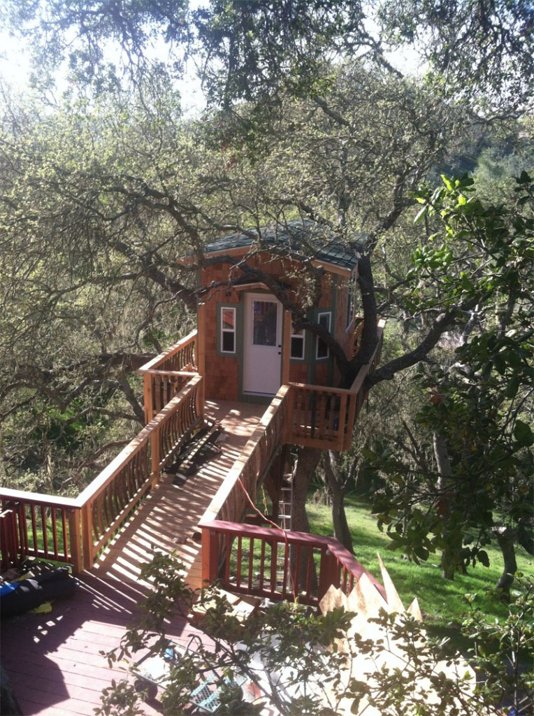 treehouse bridge deck