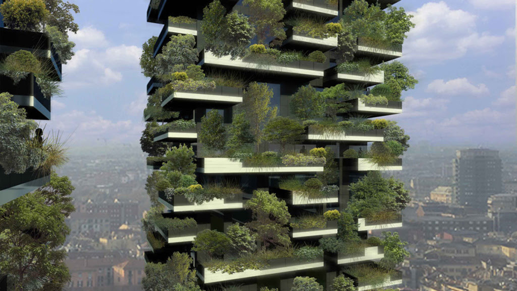 Bosco Verticale redefines treehouse living