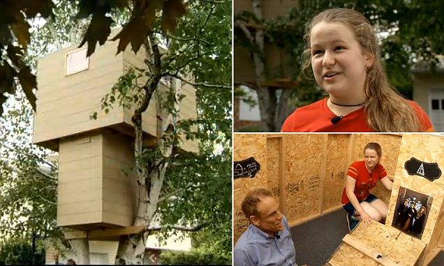 treehouse haters destroy children's dreams